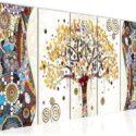 Cuadro en LienzoGustav Klimt Árbol de la vida 200 x 80 cm - XXL Impre...