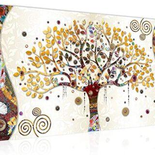 Cuadro en LienzoGustav Klimt Árbol de la vida - XXL Impresión Materia...