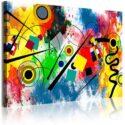 DekoArte 342 Cuadros Impresión de Imagen Artística Digitalizada, Lienz...