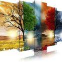 DekoArte - Cuadros Modernos Impresión de Imagen Artística Digitalizada...