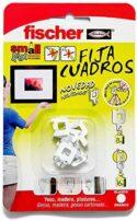 FISCHER Fijacuadros Blanco (Envase de 8 Ud.), 522206