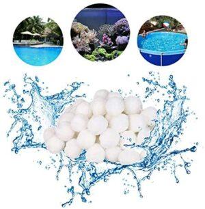 Funmo - Bola de Filtro para Piscina, 700g Filter Balls Alternative par...
