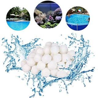 Funmo - Bola de Filtro para Piscina, 700g Filter Balls Alternative par...