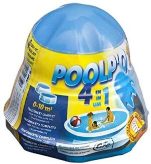 Gre 08012 - Poolp'o para piscinas 0-10 m3 (tratamiento todo en uno)