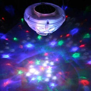Gre 90173 - Lámpara Solar de Fantasía Led para Jardín y Piscina, 8 Dio...