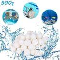 HUOHUOHUO - Bolas de filtro para piscina, 500 g, para sistemas de filt...