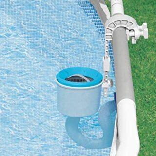 Intex 28000 - Skimmer Deluxe filtro 3.028 litros/hora, Easy Set - Meta...