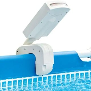 Intex 28089 - Cascada agua vertical con luces led multicolor piscinas ...