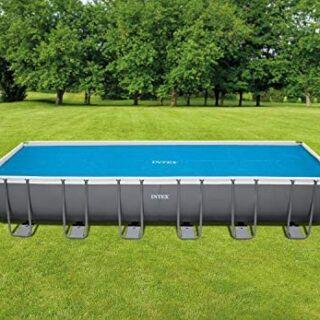 Intex 29027 - Cobertor solar para piscinas rectangulares 732 x 366 cm