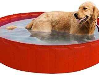 New Plast My Dog Pool 220 Piscina para Perro, Naranja, 35,5 x 15 x 5,5...