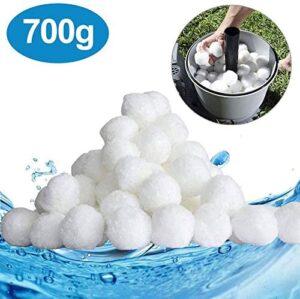 SUPERSUN Bolas de Filtro de Piscina 700 g equivale 25 kg Bolas de Filt...