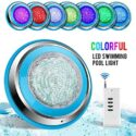 TOPLANET Led Piscina 48W RGB Luz de Piscina Iluminacion Led para Pisci...