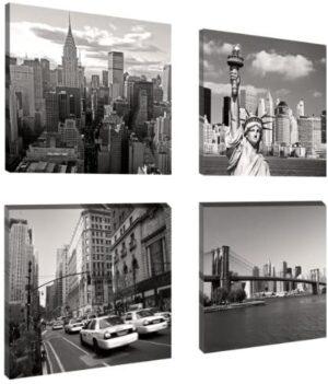 Visario 6901 - Fotografía sobre lienzo (4 x 20 x 20 cm), diseño York