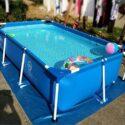 Zenghh Marco rectangular piscina, familiar Jardín Centro de Natación, ...