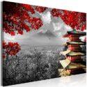 murando Cuadro Japon 120x80 cm impresión en Material Tejido no Tejido ...