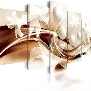murando - Cuadro en Lienzo 100x50 cm Abstracto Impresión de 5 Piezas M...