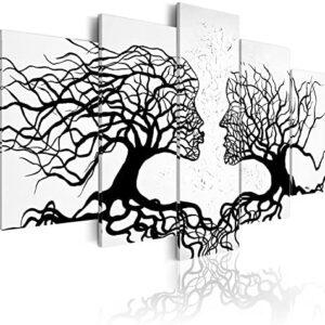murando - Cuadro en Lienzo 200x100 - Impresión de 5 Piezas Material Te...