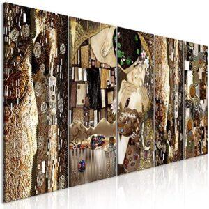murando - Cuadro en Lienzo Gustav Klimt 200x80 cm Impresión de 5 Pieza...