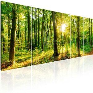 murando - Cuadro en Lienzo en Lienzo Bosque 150x60 cm Impresión de 5 P...