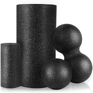 HBselect Foam Roller Masaje Kit,Rodillo Masaje Muscular Bolas De Masaj...