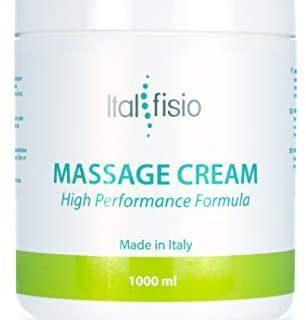 Massage Cream by Italfisio. Crema Especial de Masaje para Fisioterapia...