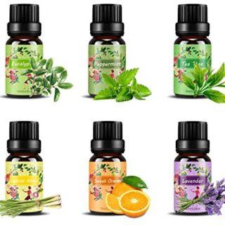 Set de aceites esenciales,100% Natural Puro Aromaterapia Aceite Aromát...