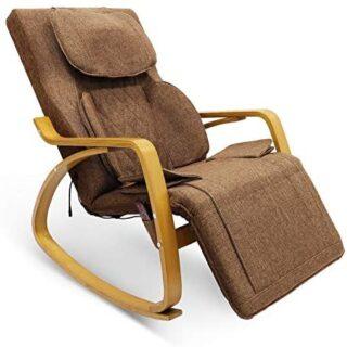 Sillón de masaje Furgle con compresa de aire 3D Shiatsu, 8 modos de ma...