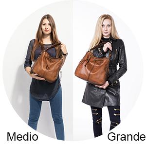 Large Medium hobo women leather imitación cuero bandolera bolsos sintéticos para mujeres jóvenes Negro marrón