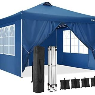 COBIZI Cenador 3x3m Carpa de Fiesta Pop Up Gazebo...