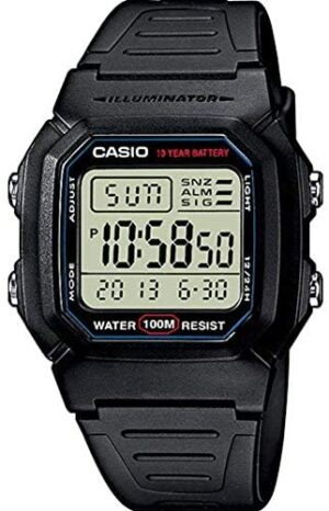 Casio Collection W-800H-1AVES, Reloj Digital Unisex,...