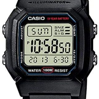 Casio Collection W-800H-1AVES, Reloj Digital Unisex,...