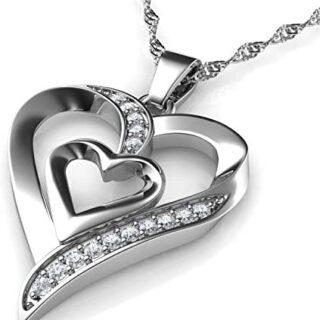 DEPHINI - Collar de corazón