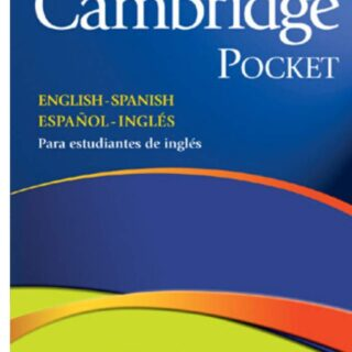 Diccionario Cambridge Pocket. English - Spanish Español...