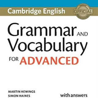 Grammar and Vocabulary for Advanced. Book with Answers...
