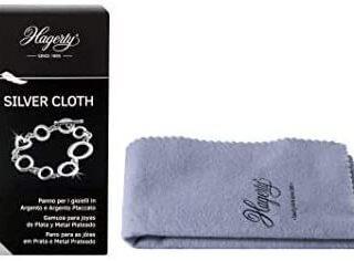 Hagerty Silver Cloth - Gamuza Impregnada Limpia Joyas...