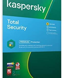 Kaspersky Total Security 2019 | 5 Dispositivos | 1 Año...