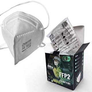 Mascarilla FFP2 Homologada Certificado CE. Caja 25...