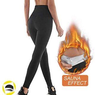 NHEIMA Pantalones de Sauna Adelgazantes Mujer...