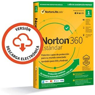 Norton 360 Estándar 2021 - Antivirus software para 1...