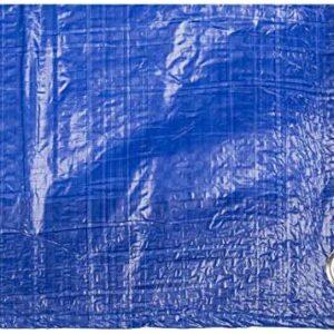 Toldo reforzado gramaje 90 grs, 3 x 5 m, color azul -...