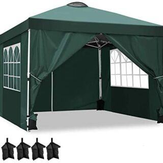 YUEBO Carpas Plegables, Carpa 3x3 m con 4 Laterales...